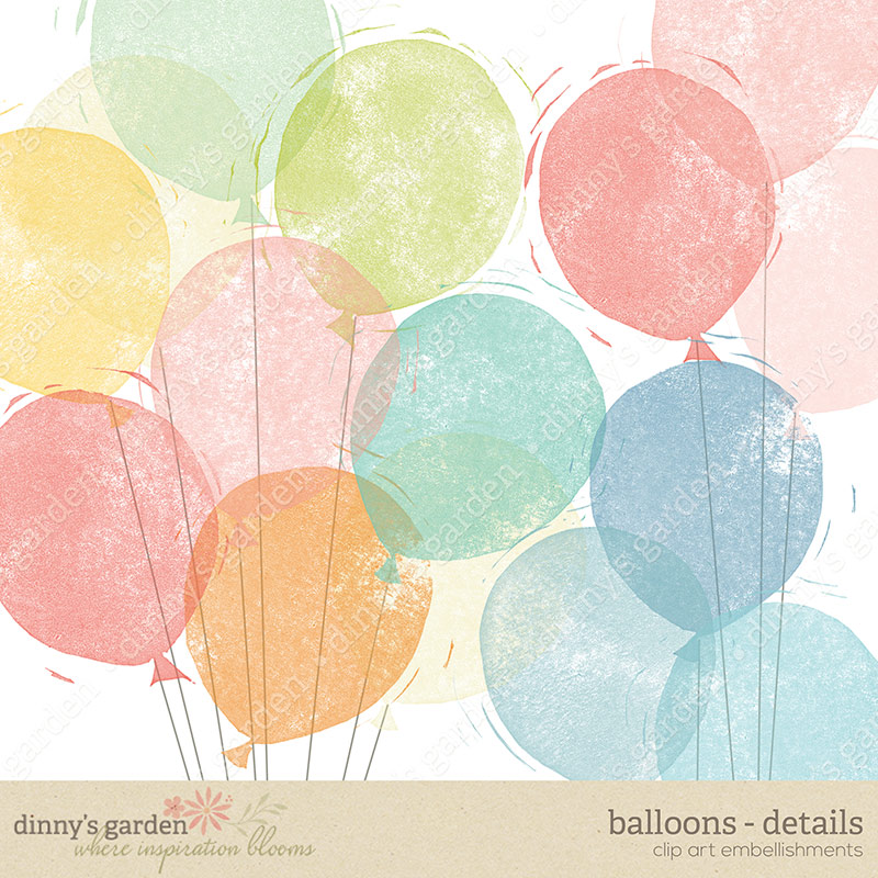stamped balloons