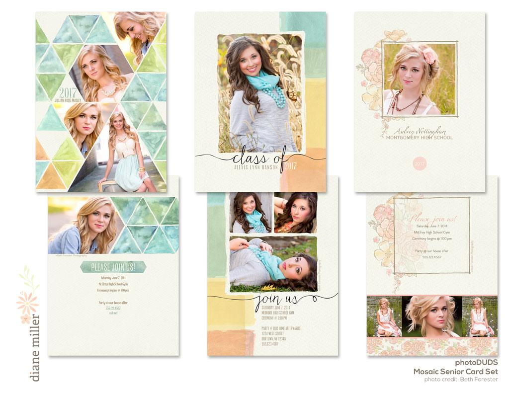 mosaic card set