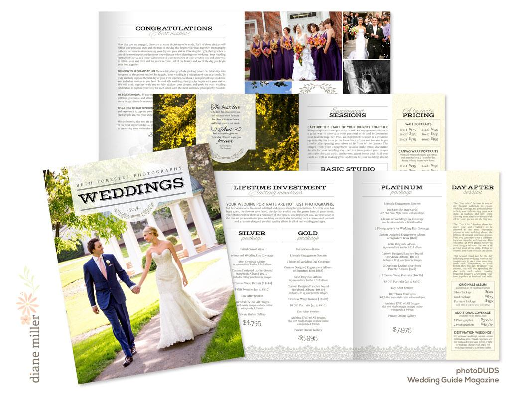 elegantZine wedding guide
